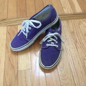 Purple Vans size 8 mens 9.5 womens